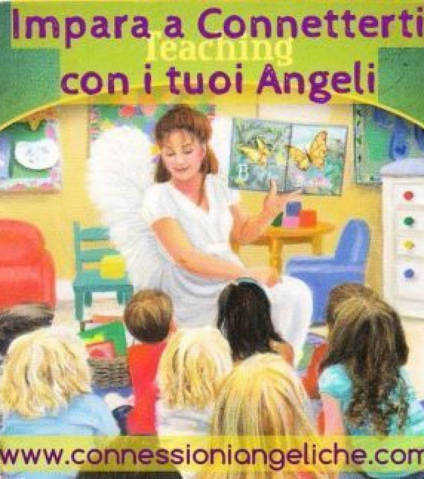 IMPARARE A CONNETTERSI CON GLI ANGELI – CORSO DA CASA.