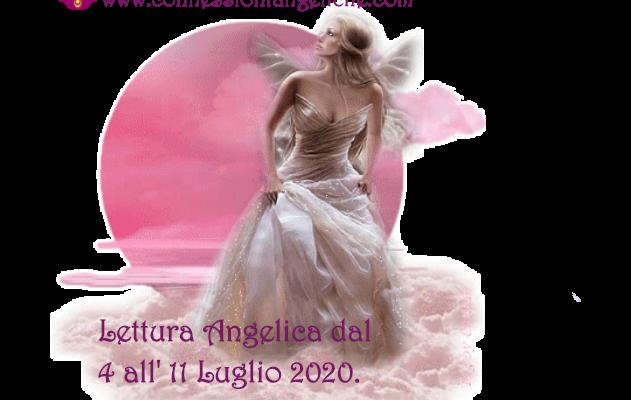 lettura angelica con l'Arcangelo Michele dal 4 al 11 Luglio 2020
